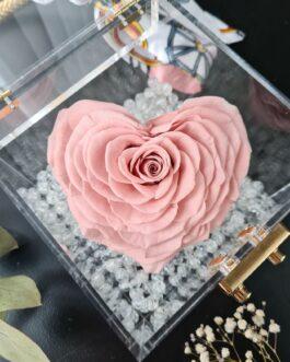 Acrylic Cube Rosa