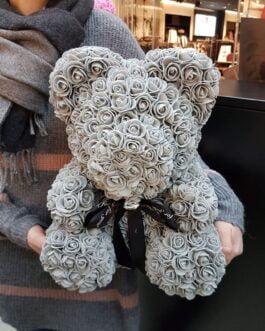 Grauer Rosenbär M